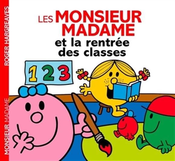 Image: Les Monsieur Madame et la rentrée des classes