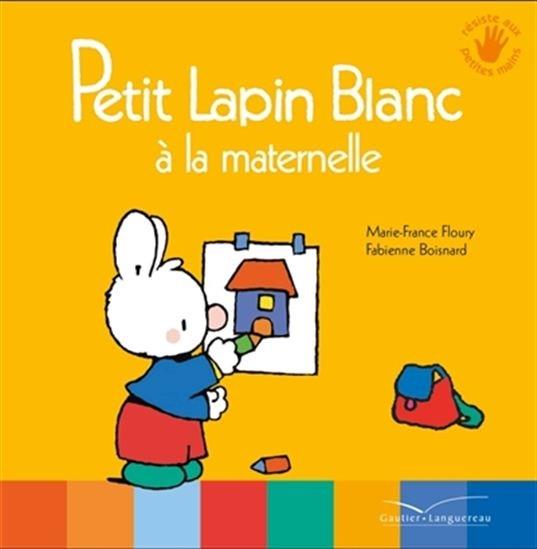 Image: Petit Lapin blanc à la maternelle