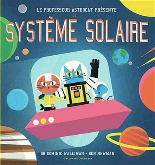 Image: Le professeur Astrocat présente Le système solaire