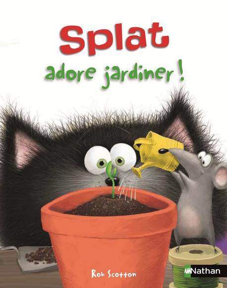 Image: Splat adore jardiner!