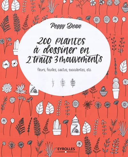 Image: 200 plantes à dessiner en 2 traits 3 mouvements
