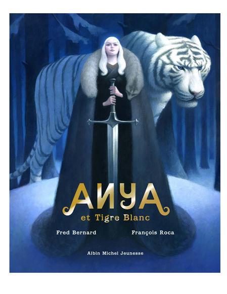 Image: Anya et Tigre blanc