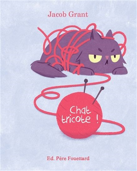 Image: Chat tricote!