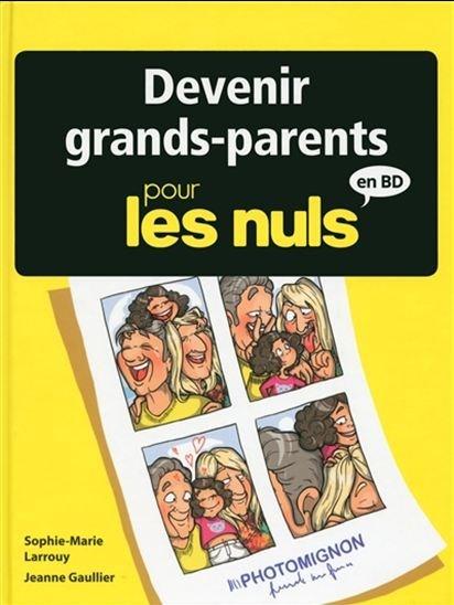 Devenir grands-parents pour les nuls en BD