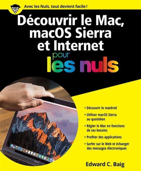 Image: Découvrir le Mac, macOS Sierra & Internet pour les nuls