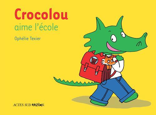 Image: Crocolou aime l'école