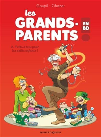 Les grands-parents en BD!