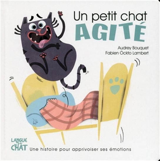 Image: Un petit chat agité