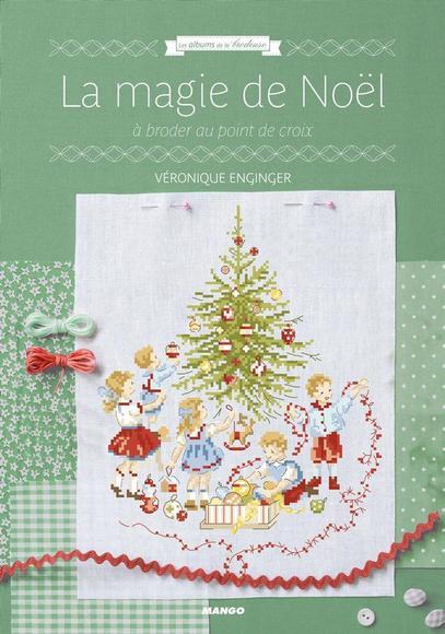 Image: La magie de Noël à broder au point de croix