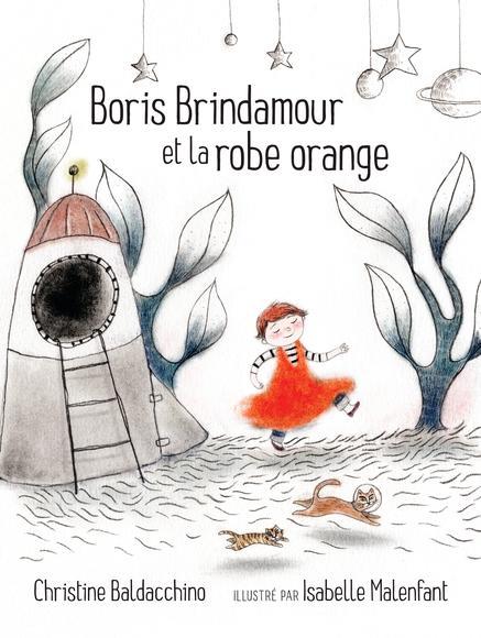 Image: Boris Brindamour et la robe orange