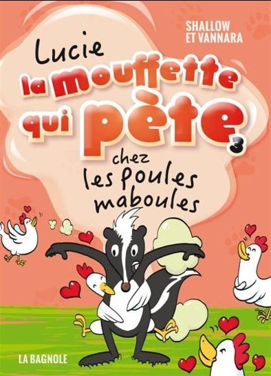 Image: Lucie la mouffette qui pète