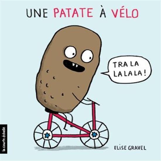 Image: Une patate à vélo