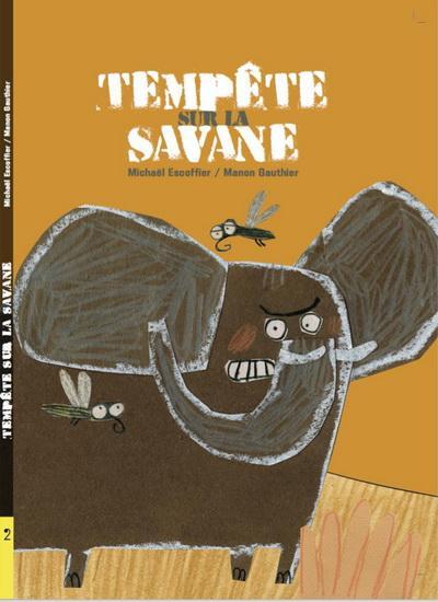 Image: Tempête sur la savane
