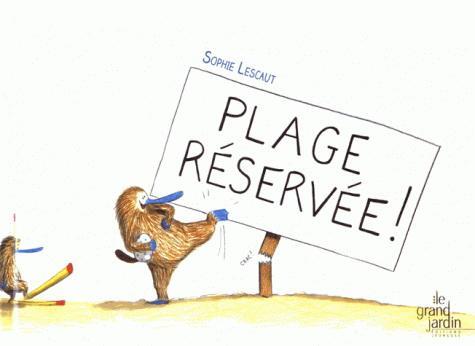 Image: Plage réservée