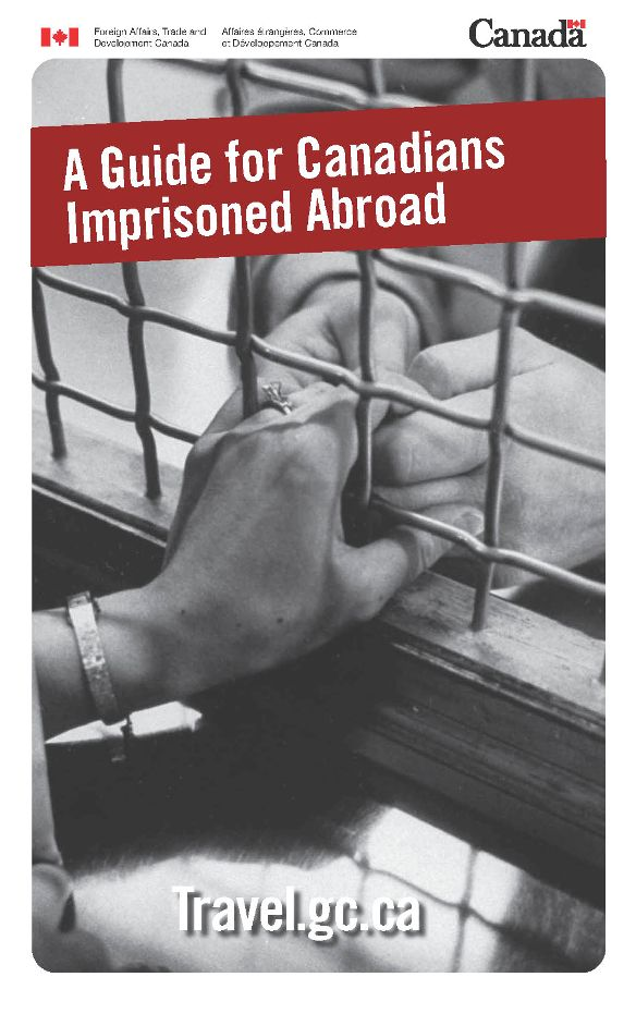 A Guide for Canadians Imprisoned Abroad