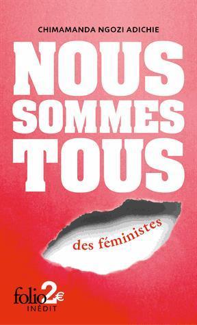 Image: Nous sommes tous des féministes ; suivi de, Les marieuses