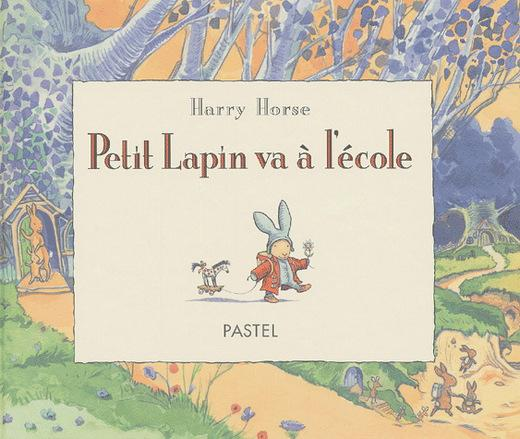 Petit Lapin va à l'école