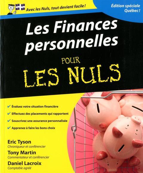 Image: Les finances personnelles pour les nuls