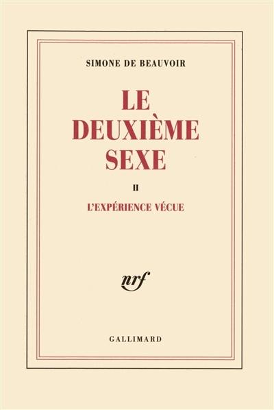 Image: Le deuxième sexe
