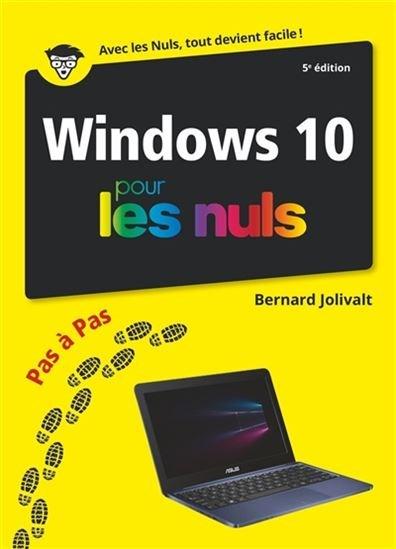 Image: Windows 10 pas à pas pour les nuls