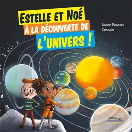 Image: Estelle et Noé à la découverte de l'Univers!