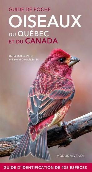 Guide de poche oiseaux du Québec et du Canada